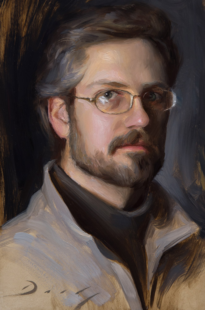 Self Portrait at 34