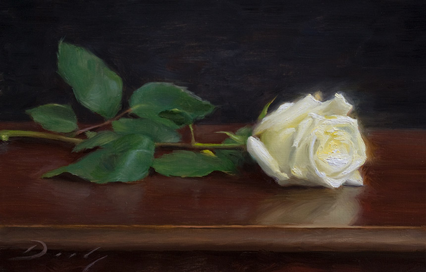 """Step-by-step: """"White Rose"""""""