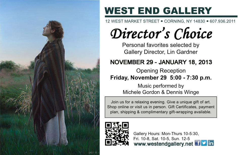 Director's Choice Exhibition at the West End Gallery