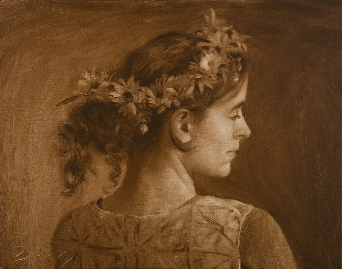 """Arts in Bloom"" Portrait Demonstration"