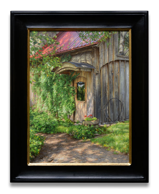 "Behind the painting: ""The Doorway"""